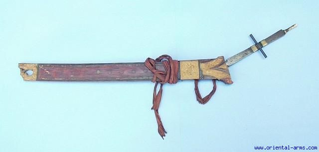 Oriental-Arms: Pandat, War Sword of the Dayak, Sarawak, Kalimantan