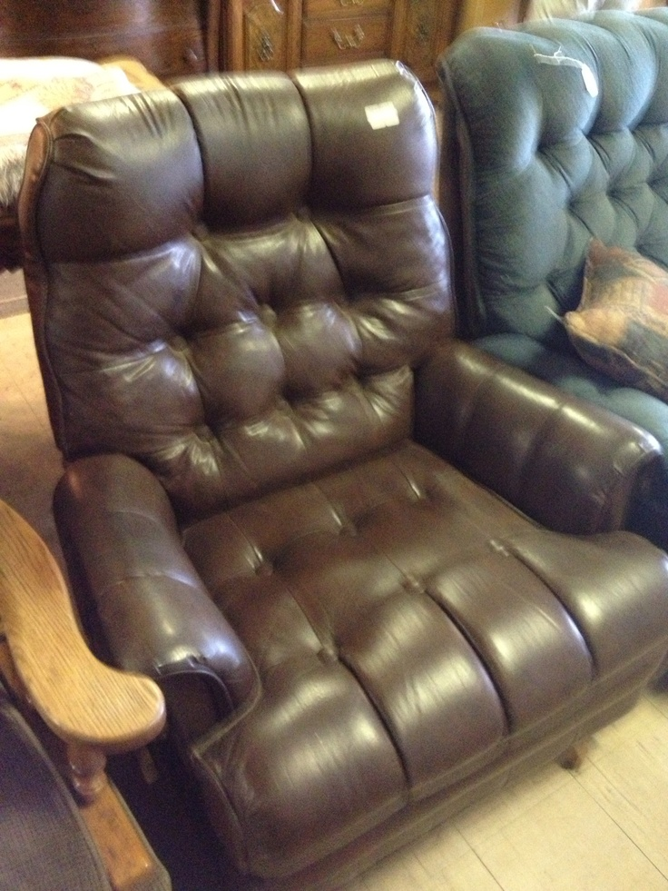 Used leather recliner $59 Fremont & 123 best Vintage Hunting Lodge images on Pinterest | Lodges ... islam-shia.org