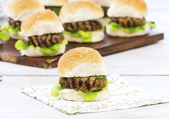 These Asian Pork Rissoles served in slider buns are a fun idea to serve for friends and family over the Christmas season.