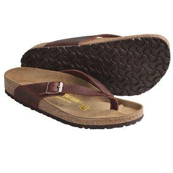 Birkenstock Adria Sandals - Leather, Flip-Flops (For Women)