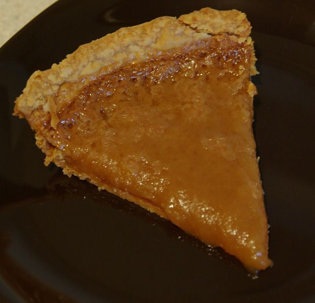 Original old-time Quebec sugar pie