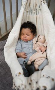 Baby Amaca, per i primi mesi del neonato, per farlo sentire ancora dondolato e raccolto come nella pancia della mamma! su Ecomiqui.it