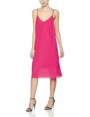 XXX-Large, Pink (Fushia), FIND Women's Ribbed Cocktail Dress NEW