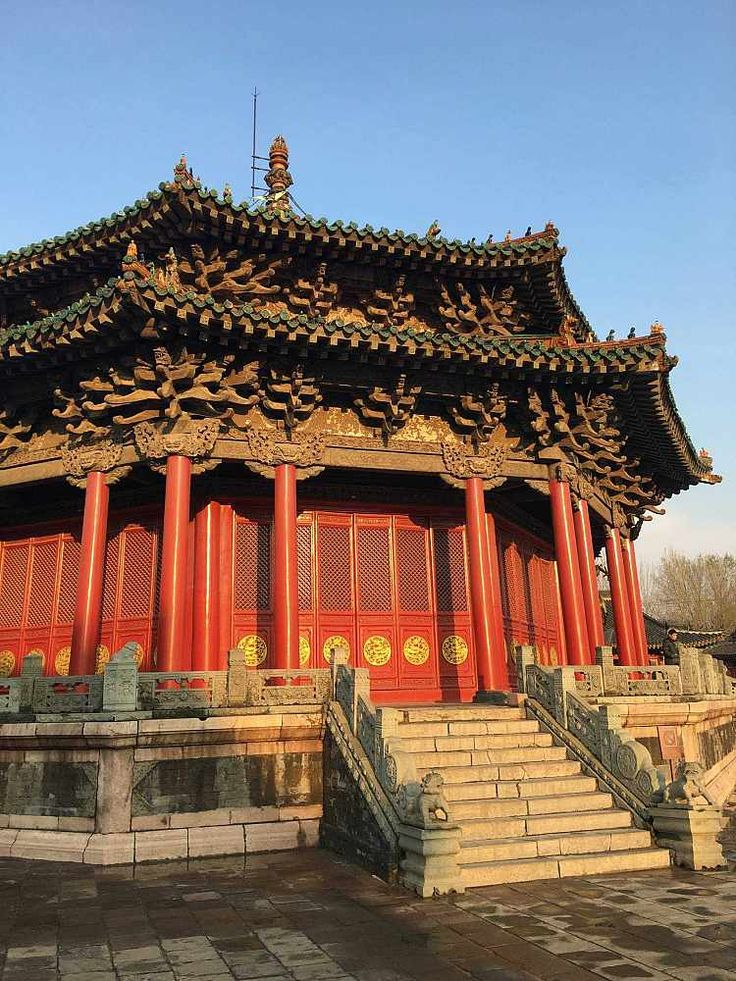 One of the Imperial Palace buildings, Shenyang, China