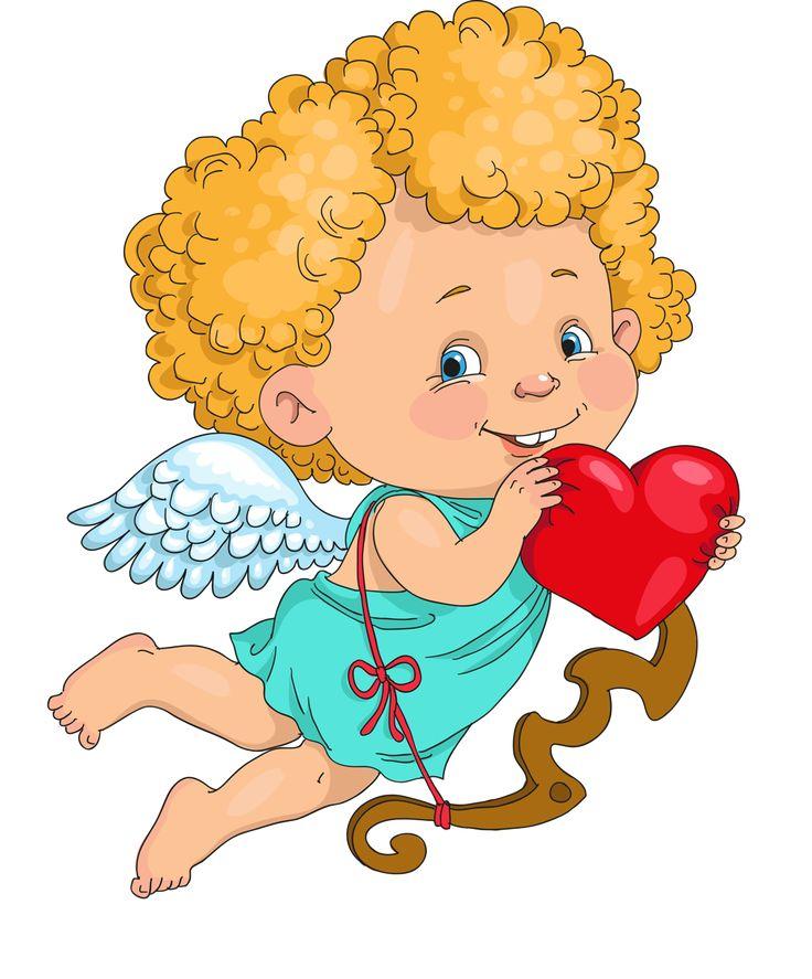 Волчица, открытки с ангелом и сердцем