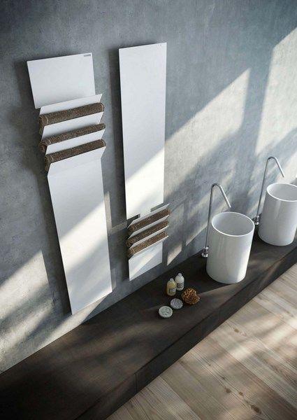 The 25+ best Radiateur Seche Serviette ideas on Pinterest - porte serviette salle de bain design
