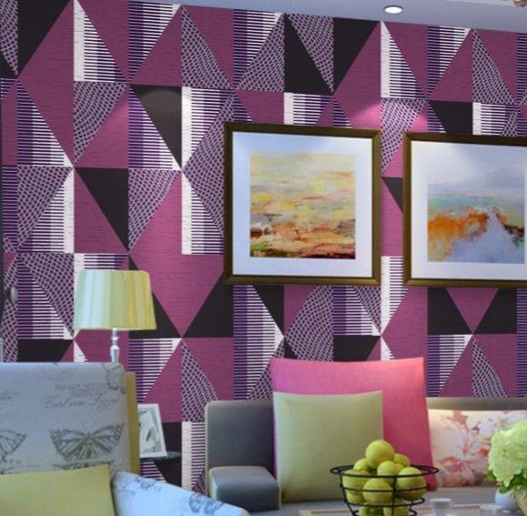 en yeni geometrik duvar kağıdı tasarımları