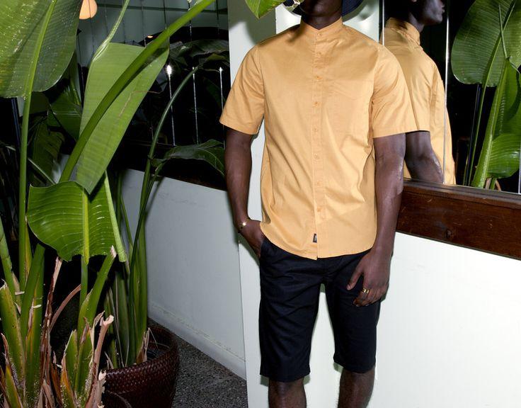 Of Sharks & Men - SS2016  Ernesto cotton shirt Adamo linen/cotton shorts