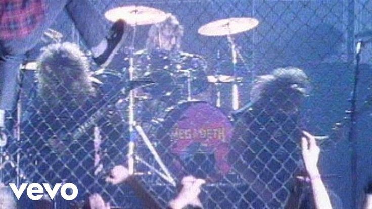Megadeth - Wake Up Dead - YouTube #Megadeth Official video of Megadeth performing Wake Up Dead from the album Peace Sells...But Who's Buying. Buy It Here: http://ift.tt/1t6F9bW Like Megadeth on ...