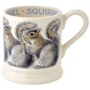 Grey Squirrel 1/2 Pint Mug