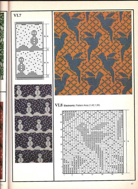 Машинное вязание - жаккард #40                                                                                                                                                                                 More