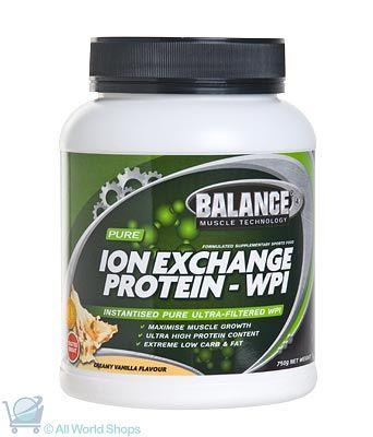 Ion Exchange Whey - Vanilla - 750g Powder | Shop New Zealand NZ$ 85.90