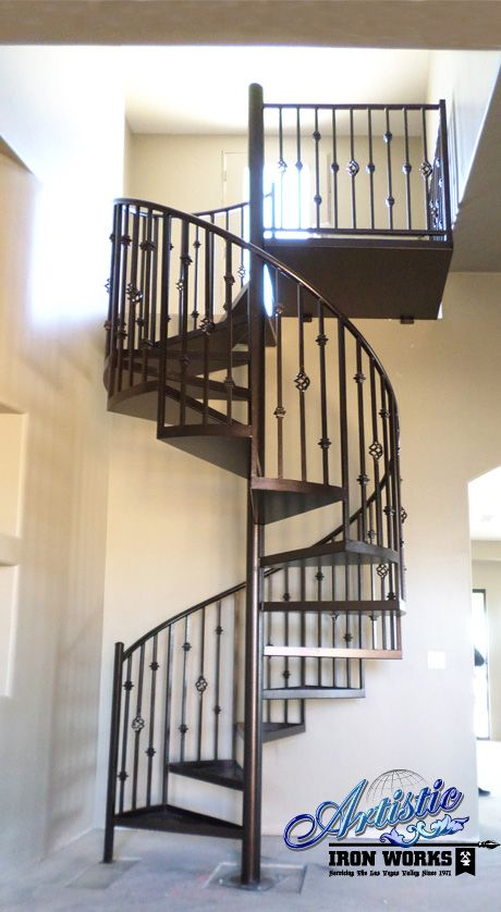 Best Custom Wrought Iron Spiralcase Spiral Staircases Pinterest Spiral Stair Spirals And Irons 400 x 300
