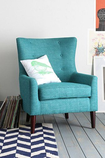 Teal Farbe Akzent Stühle | Möbelideen Innendekoration Farbe Wnde