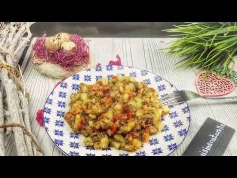 Овощное рагу с чесноком - YouTube
