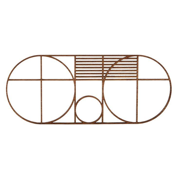 Outline Trivet Oval