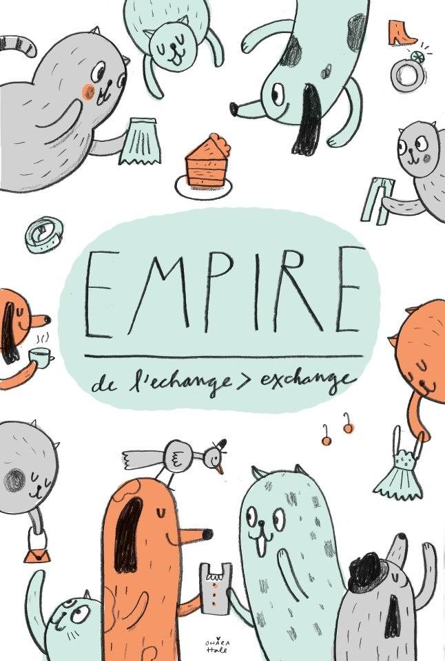 Empire postcard - Ohara Hale
