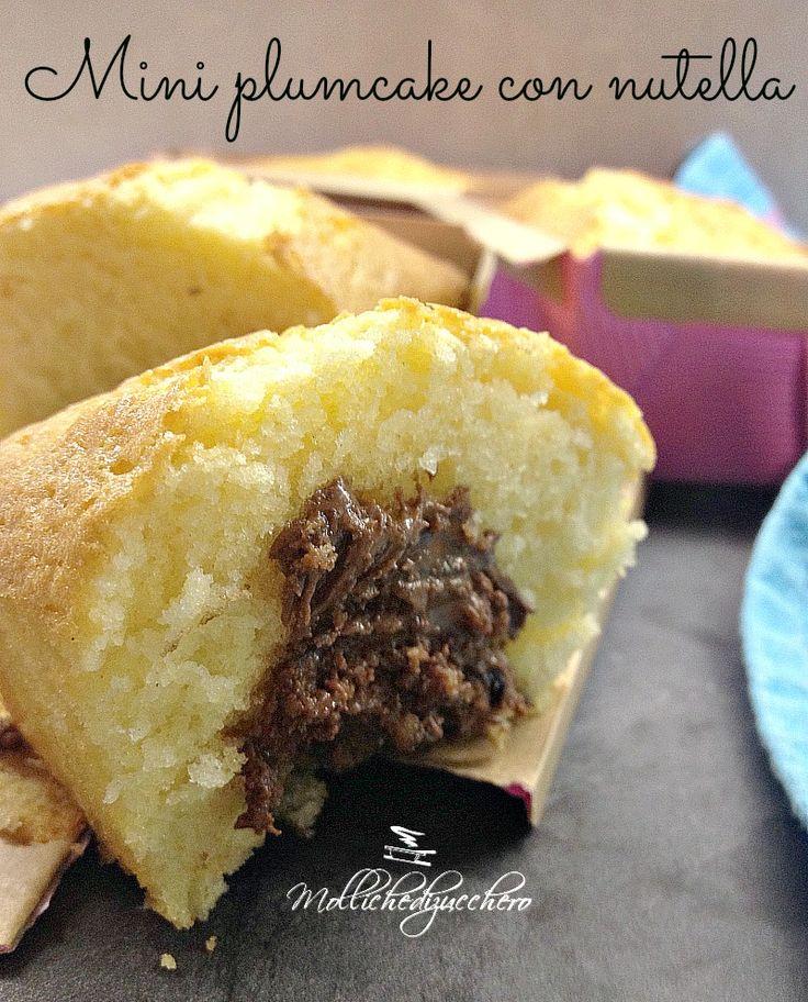 mini plumcake alla nutella