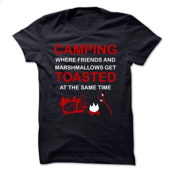 CAMPING TOASTED - #business shirts #funny t shirts for women. BUY NOW => https://www.sunfrog.com/Outdoor/CAMPING-TOASTED.html?60505