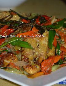 Diah Didi's Kitchen: Uji Coba Sendiri Resep *Ayam Rambut Setan* Ala Mbah Jingkrak...Hasilnya 99 %..Mirip Rasanya..^_^