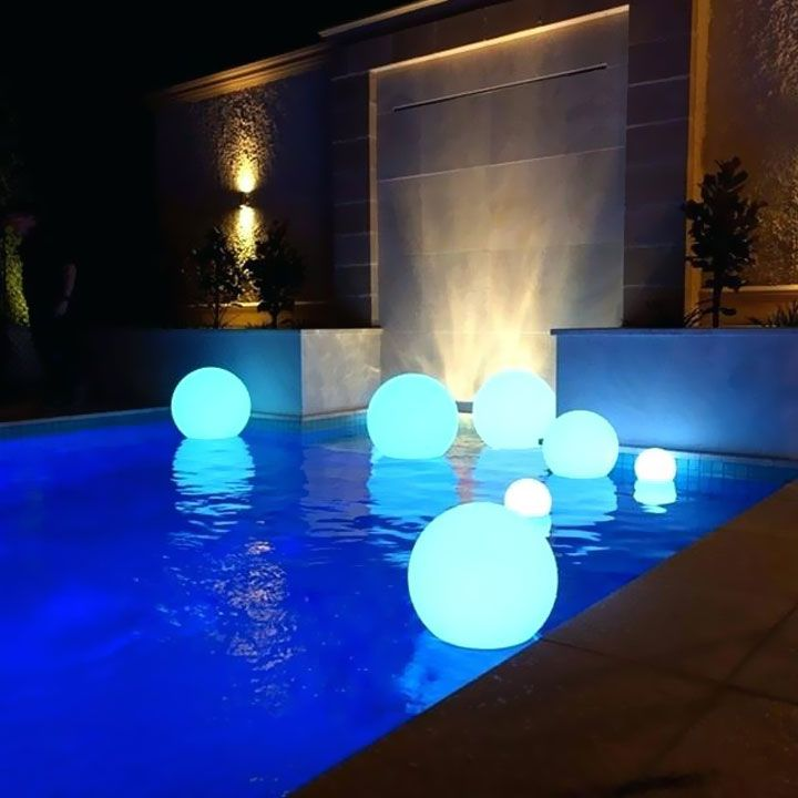 how to change a pool light to led