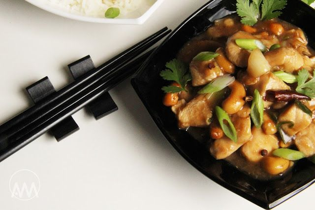 V kuchyni vždy otevřeno ...: Kuřecí Kung - pao s kešu