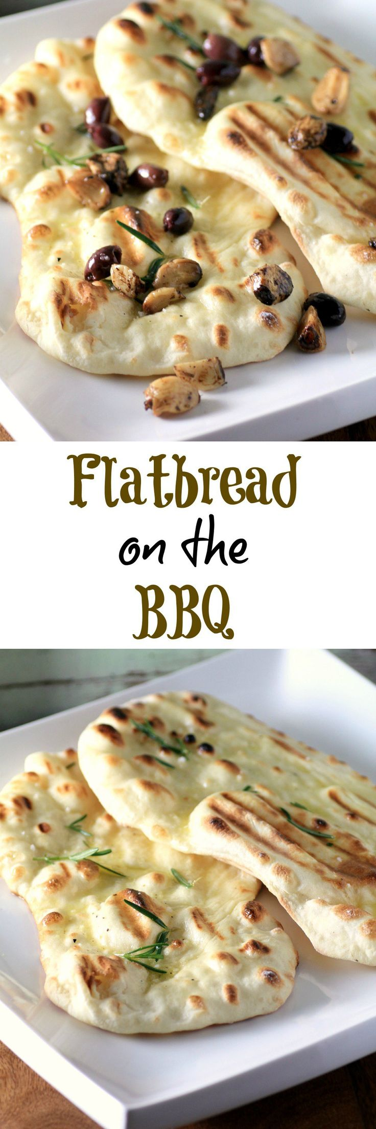 Flatbread on the BBQ #WeekdaySupper, so easy and your family will love you for it!