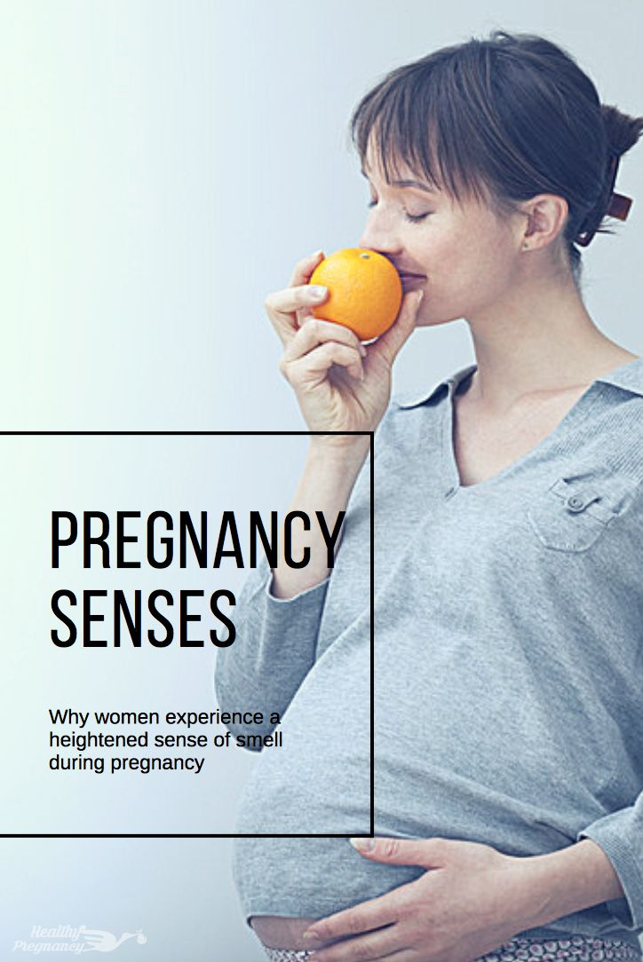 Why women experience a heightened sense of smell during pregnancy