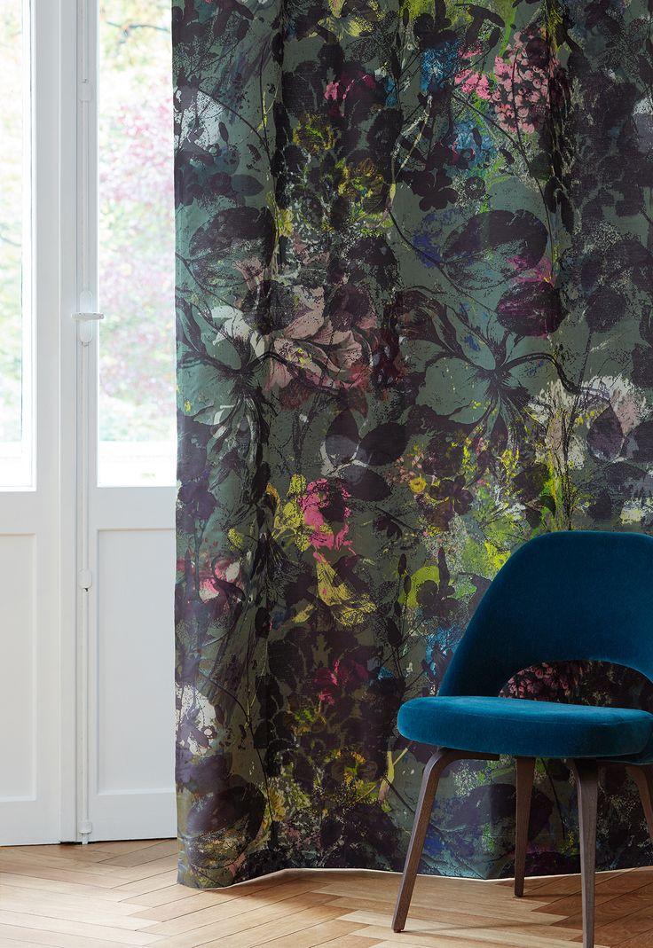 """Création Baumann presents the """"Silk & Spices"""" Collection. Curtain ARTEMISIA"""