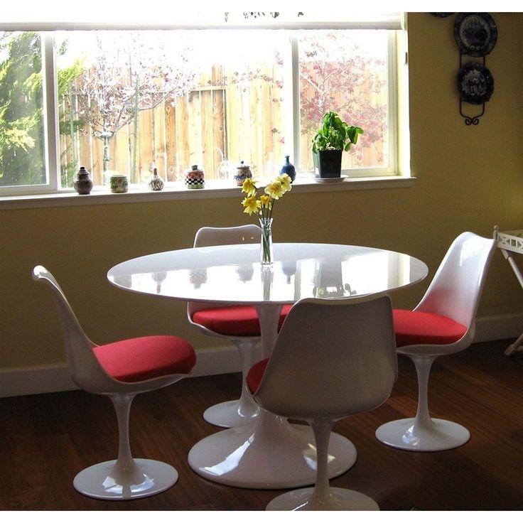 "Modway Lippa 36"" Fiberglass Dining Table"