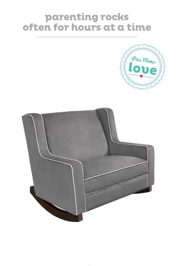 Create a cozy place to soothe your baby with the Eddie Bauer Chair and a Half rocker from Target. It's the perfectly comfy addition to your nursery.