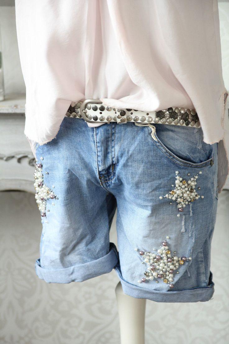 die besten 25 jeans aufpeppen ideen auf pinterest. Black Bedroom Furniture Sets. Home Design Ideas
