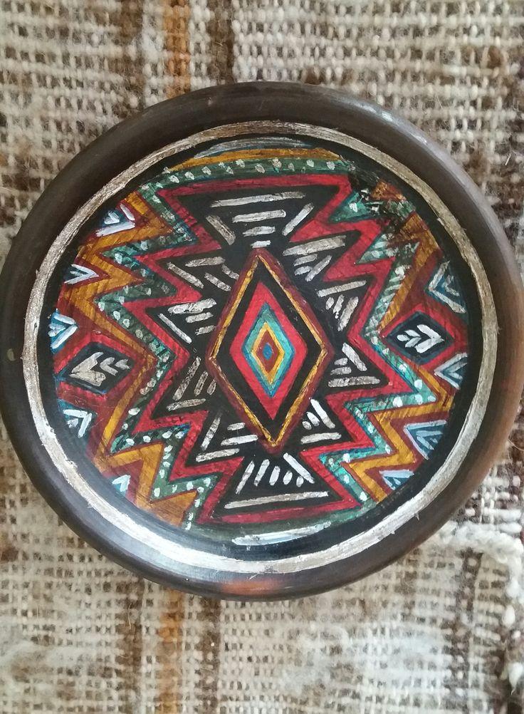 plato con simbolo wanglen