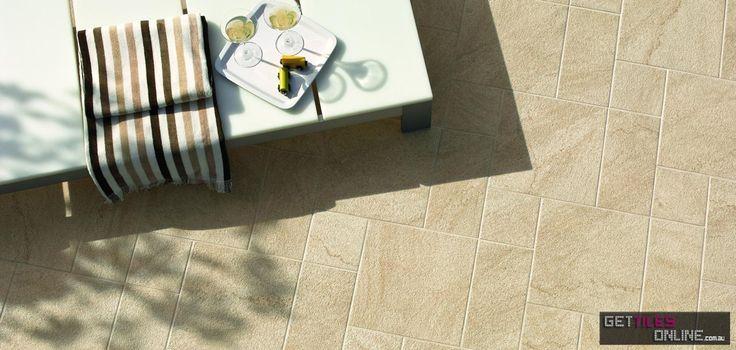 Trace Beige Outdoor (Code:00159) - Get Tiles Online