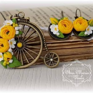 Pandativ bicicleta - handmade with love by Ana Maria and Paula