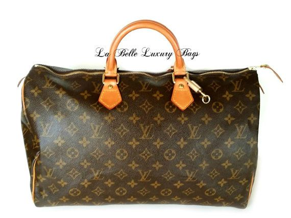 Guaranteed AUTHENTIC Louis Vuitton Speedy 40 by LaBelleLuxuryBags, $699.00