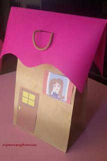 Οι παραμυθένιες: Ένα σπίτι με πλαστικά καπάκια!!