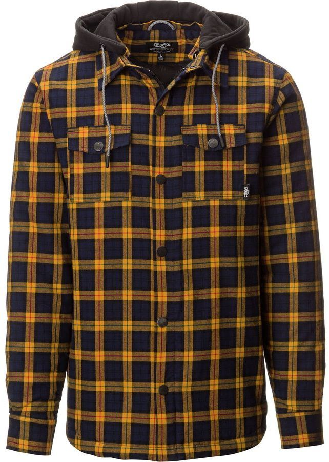 Saga Insulated Hooded Flannel Shirt