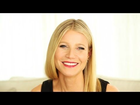 Gwyneth paltrow interview healthy living