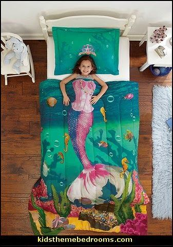 Decorating theme bedrooms - Maries Manor: underwater bedroom ideas - under the sea theme bedrooms - mermaid theme bedrooms - sea life bedrooms - Little mermaid princess Ariel - Sponge Bob theme bedrooms