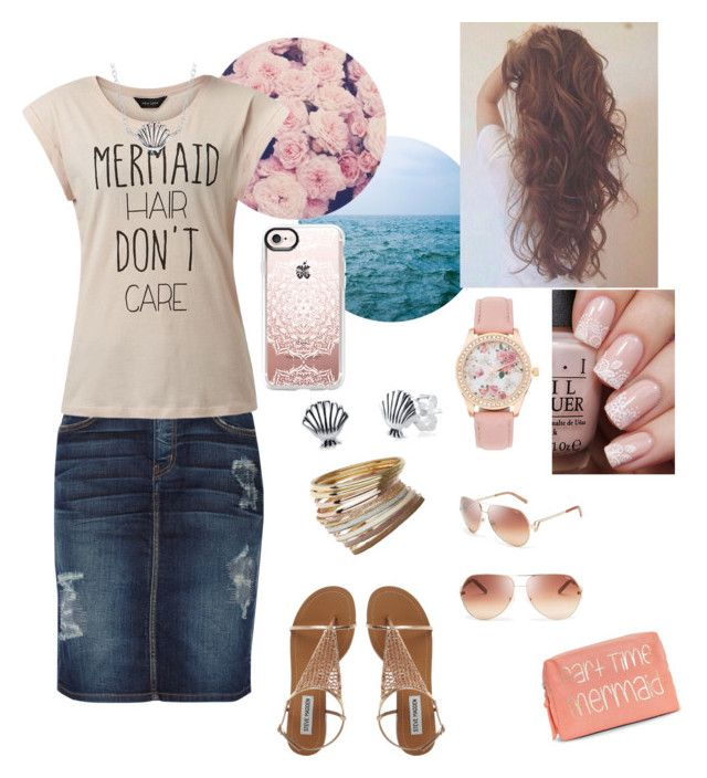 """"""""""" by wonderfullyme64 on Polyvore featuring WALL, Chloé, Current/Elliott, Miss Selfridge, Boohoo, Casetify and Disney"""