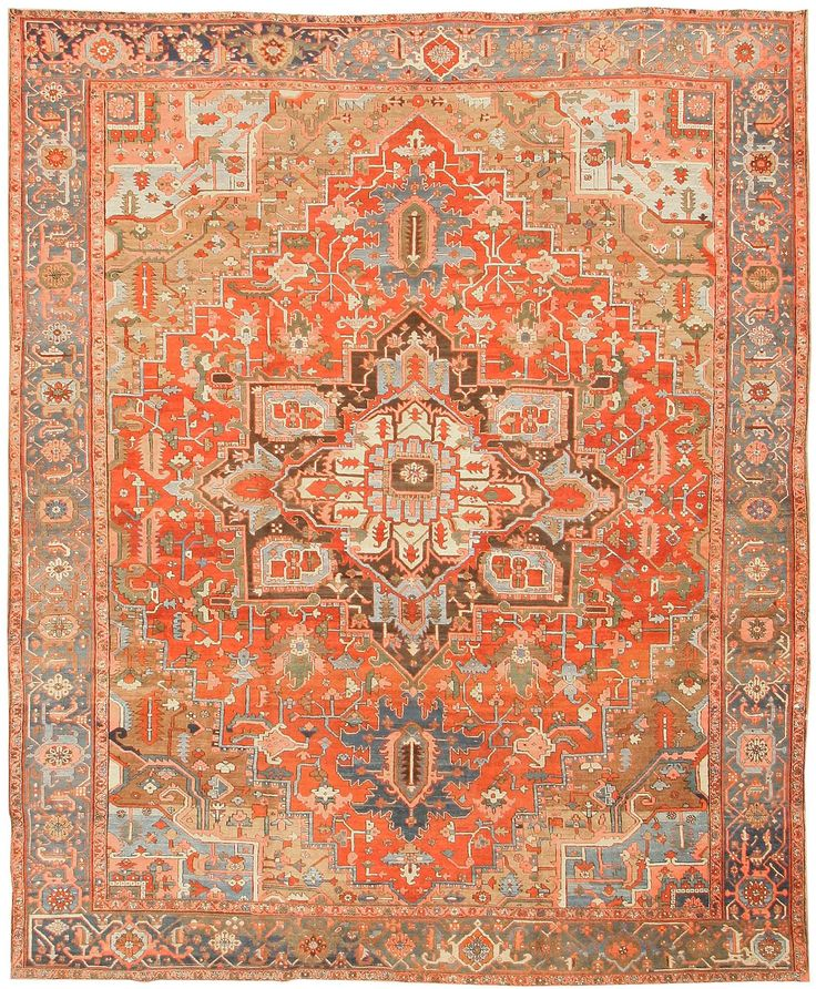 69 Best Images About Antique Heriz Rugs On Pinterest