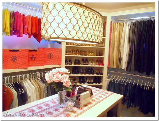 <3: Dream Closets, Organization, Idea, Dream House, Honey We Re, Master Closet, Homes, Light Fixture, Dressing Room