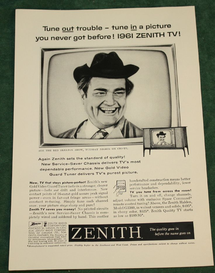 Red Skelton TV ad