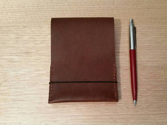 Check out this item in my Etsy shop https://www.etsy.com/au/listing/535643309/whiskey-brown-spiral-notepad-cover