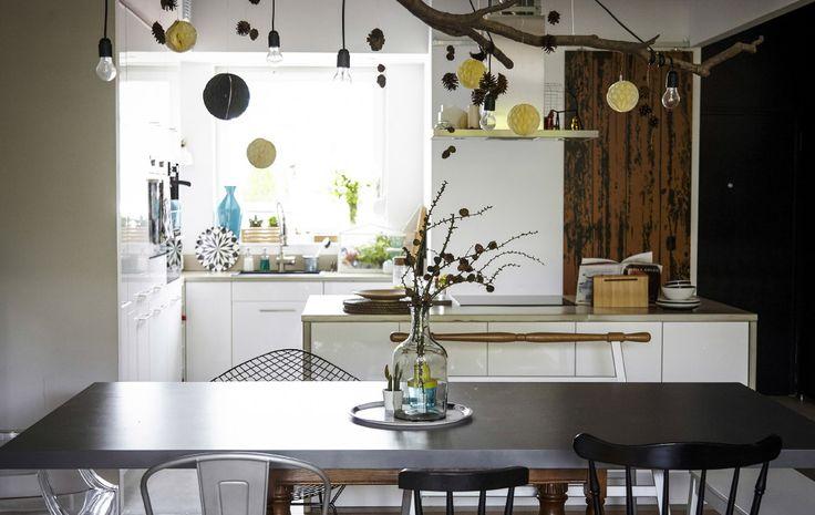 Una cucina e una zona pranzo multifunzionali sono uno spazio ideale per trascorrere il tempo con gli amici e la famiglia - IKEA