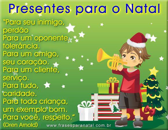 frases de fim de ano, presentes para o natal
