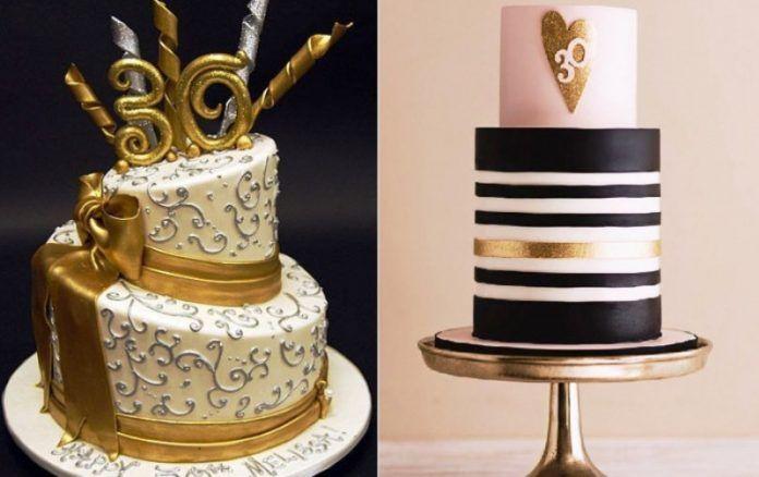 30 Yaş Pastası Modelleri, Yazıları ve Örnekleri
