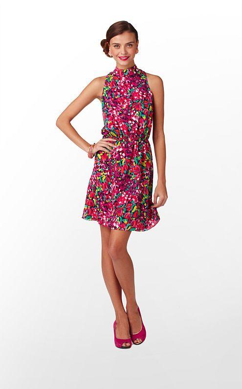 Harper Dress in Wild Confetti $178 (w/o 8/5/12) #lillypulitzer #fashion #style