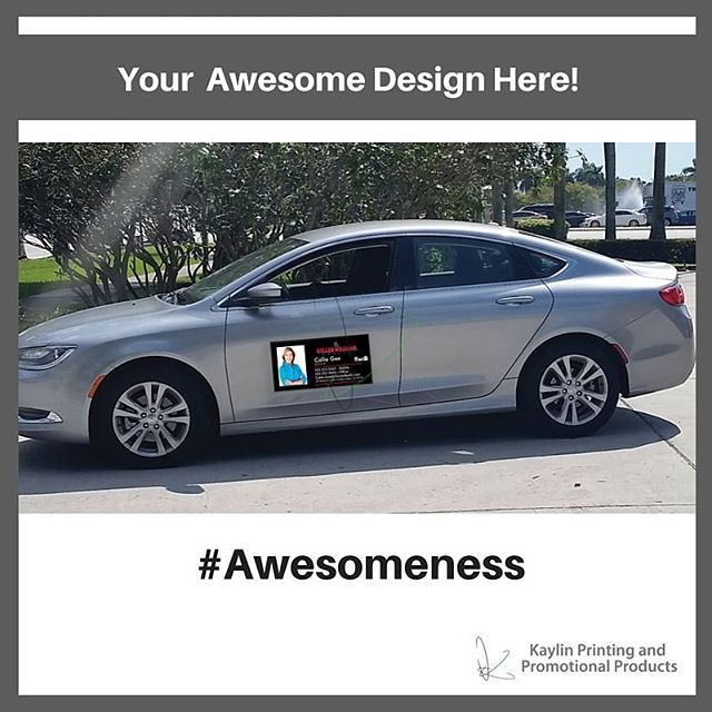 Customized Car Magnets Promote Your Brand Custom Vinyl Decals - Custom car magnet maker